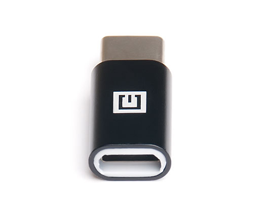 Aдаптер REAL-EL USB micro F-type C